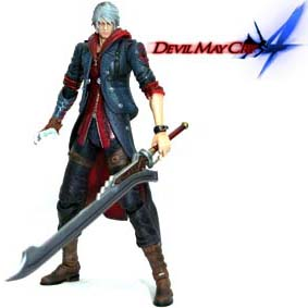 Boneco Devil May Cry 4 Nero Square Enix Play Arts Kai Action Figures