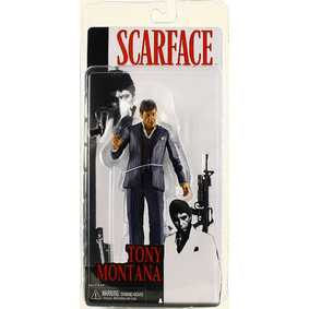 Boneco do Al Pacino ( Tony Montana ) do filme Scarface da Neca Toys Action Figures