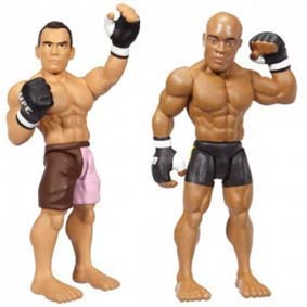 Boneco do Anderson Silva vs. Rich Franklin :: Bonecos Ultimate Fighting UFC
