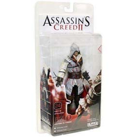 Boneco do Assassins Creed II 2 - Ezio branco da Neca
