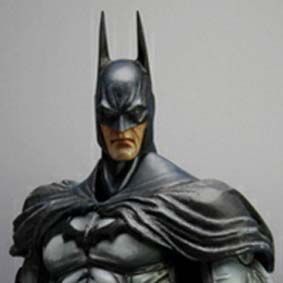 Boneco do Batman Arkham Asylum Square Enix Play Arts Kai Action Figure