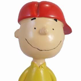 Boneco do Charlie Brown da Turma do Snoopy