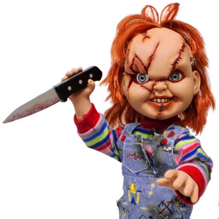 Boneco do Chucky (filme Brinquedo Assassino) Mezco Toyz Bonecos Colecionáveis