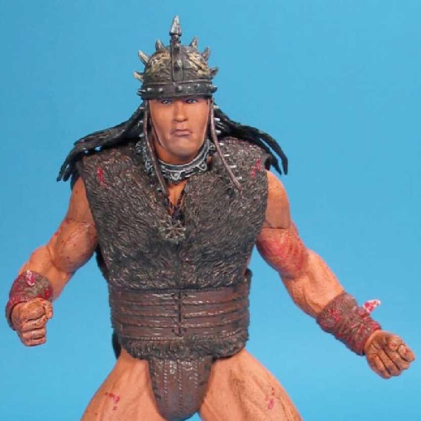 Boneco do Conan o Bárbaro: Arnold Schwarzenegger (ABERTO) Conan Action Figures Neca Toys