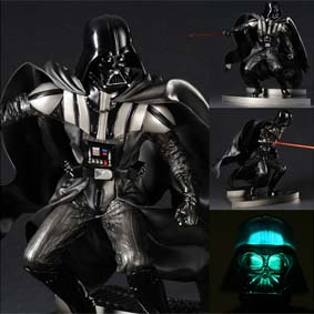 Boneco do Darth Vader ARTFX Kotobukiya Return of the Jedi Edition escala 1/7