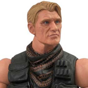 Boneco do Dolph Lundgren The Expendables 2 (Os Mercenários 2) Gunner Jensen