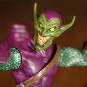 Boneco do Duende Verde Marvel Select 2012 (Green Goblin) Bonecos Diamond
