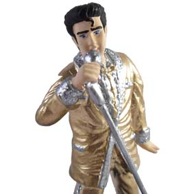 Boneco do Elvis Presley / The Year in Gold (1956)