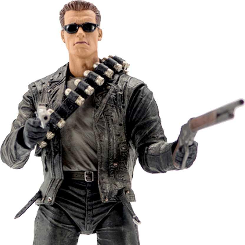 Boneco do Exterminador do Futuro 2 NECA Terminator 2 Ultimate T-800 (Arnold Schwarzenegger)