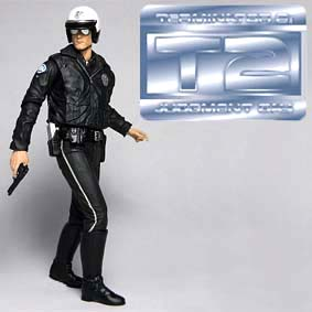 Boneco do Exterminador do Futuro 2 Terminator 2 Neca T-1000 Cop Action Figure
