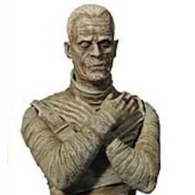 Boneco do filme A Múmia / Bonecos Universal Monsters The Mummy Diamond Select