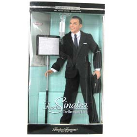 Boneco do Frank Sinatra - The Recording Years da Mattel Barbie