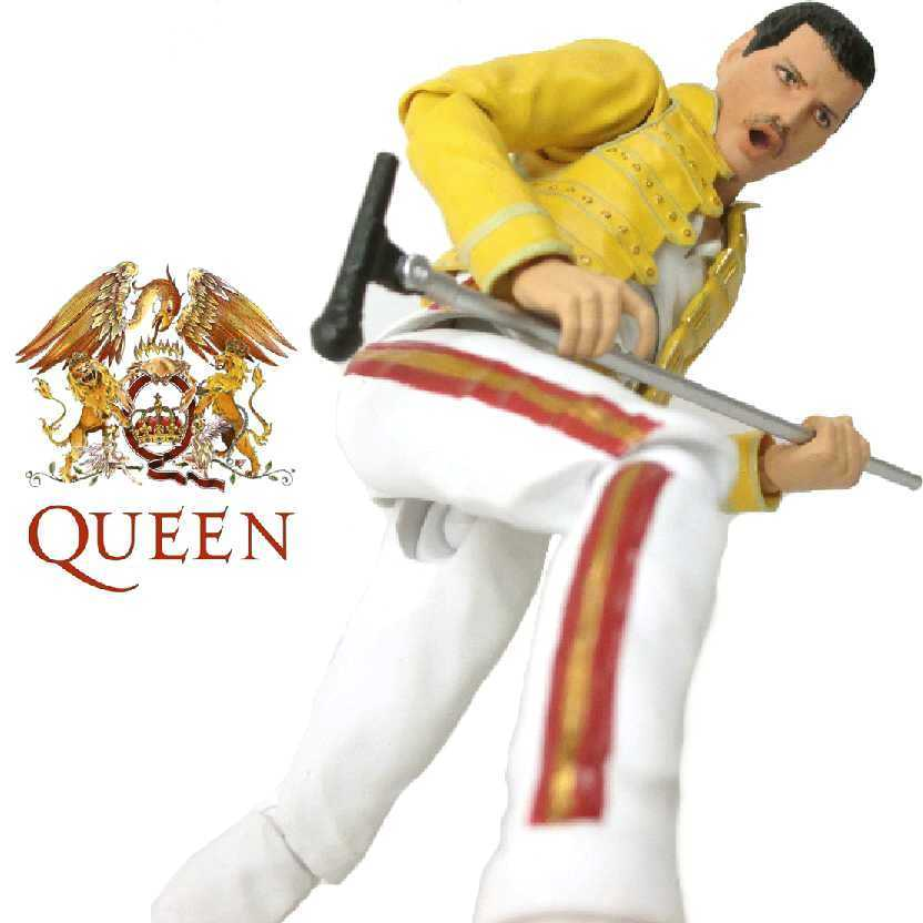 Boneco do Freddie Mercury (Queen) Bandai S.H.Figuarts action figures