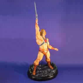 Boneco do He-Man ( Heróis em resina ) Masters of the Universe