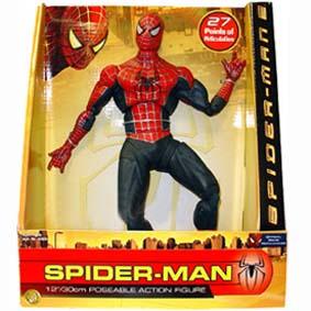 Boneco do Homem Aranha 2 Toy Biz (na caixa) 27 pontos de articulação
