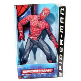 Boneco do Homem Aranha (Primeiro Filme) 2001 Raridade Toy Biz 43720