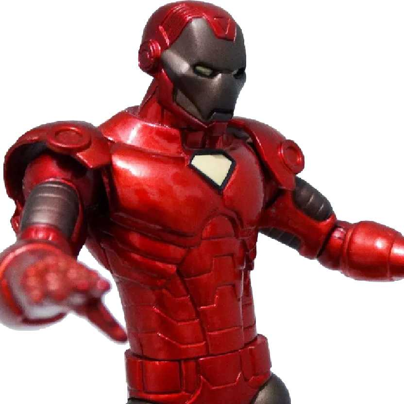 Boneco do Homem de Ferro: Marvel Select Comics Iron Man Action Figures (ABERTO)