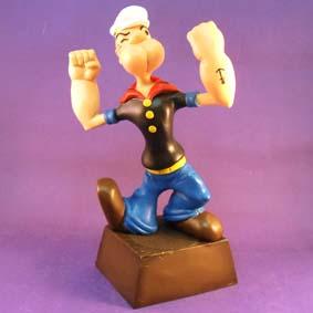 Boneco do Marinheiro Popeye - O primeiro mascote do Flamengo