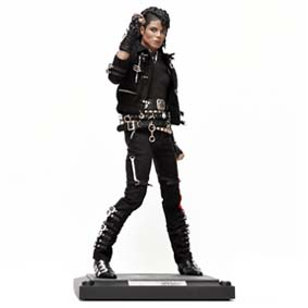 Boneco do Michael Jackson Bad da Hot Toys Action Figures