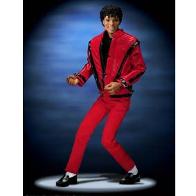Boneco do Michael Jackson Thriller - Playmates Action Figures