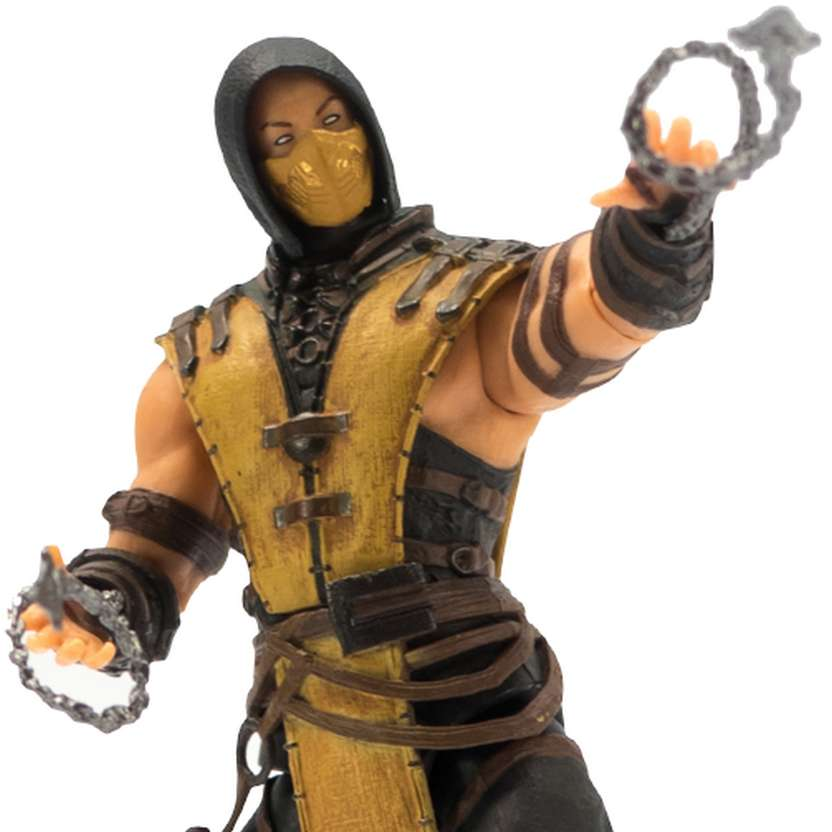 Boneco do Mortal Kombat X - Scorpion marca Mezco Toyz Action Figures
