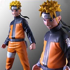 Boneco do Naruto Shippuden série 1 da Toynami (aberto) com base