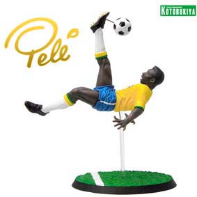 Boneco do Pelé 20th Century Icon Kotobukiya Piziitoys Brasil 1970