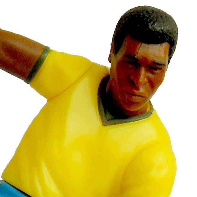 Boneco do Rei Pelé - Edson Arantes do Nascimento - Team Brazil (aberto) Kenner 1997