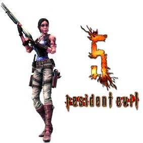 Boneco do Resident Evil 5 Sheva Alomar Square Enix Play Arts Kai Bonecos