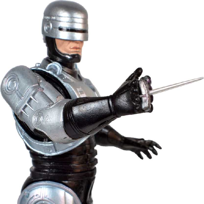 Boneco do Robocop Neca 7 inch Action Figure (aberto)