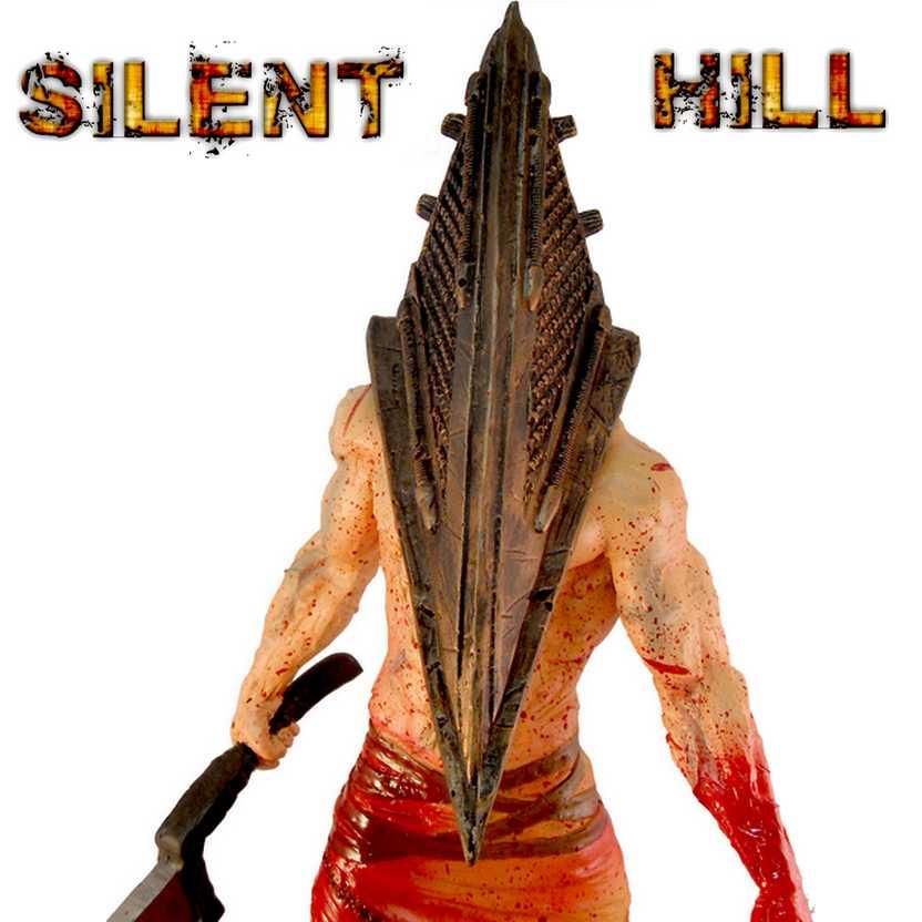 Boneco do Silent Hill - Estátua do Pyramid Head ( Cabeça de Pirâmide )