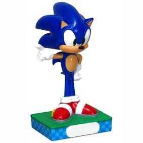 Boneco do Sonic The Hedgehog Funko Wacky Wobbler / Sonic Bobble Head