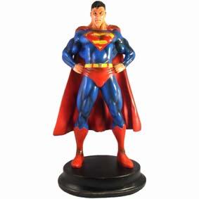 Boneco do Superman / Estátua do Super Homem em resina