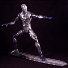 Boneco do Surfista Prateado Hasbro :: Fantastic Four Silver Surfer Action Figure