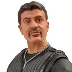 Boneco do Sylvester Stallone - Os Mercenários 2 - Barney Ross The Expendables 2