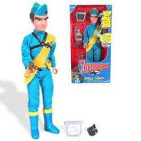 Boneco do Thunderbirds Virgil Tracy com som ( Gerry Anderson ) 5 Frases