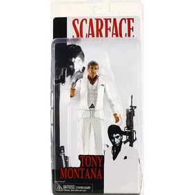 Boneco do Tony Montana ( Al Pacino ) filme Scarface da Neca Toys Action Figures