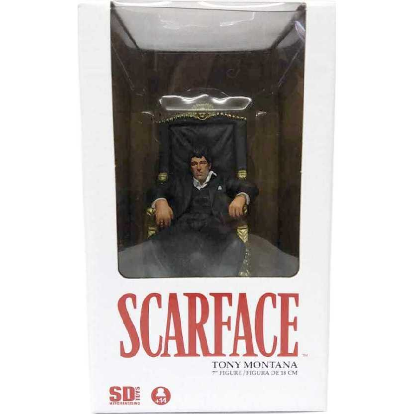 Boneco do Tony Montana (Al Pacino) Scarface marca SD Toys
