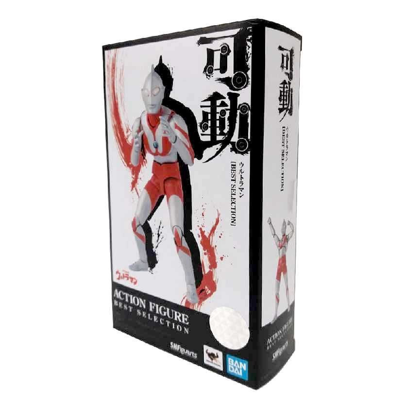 Boneco do Ultraman Bandai S.H.Figuarts Best Selection 2526179 Novo e Original