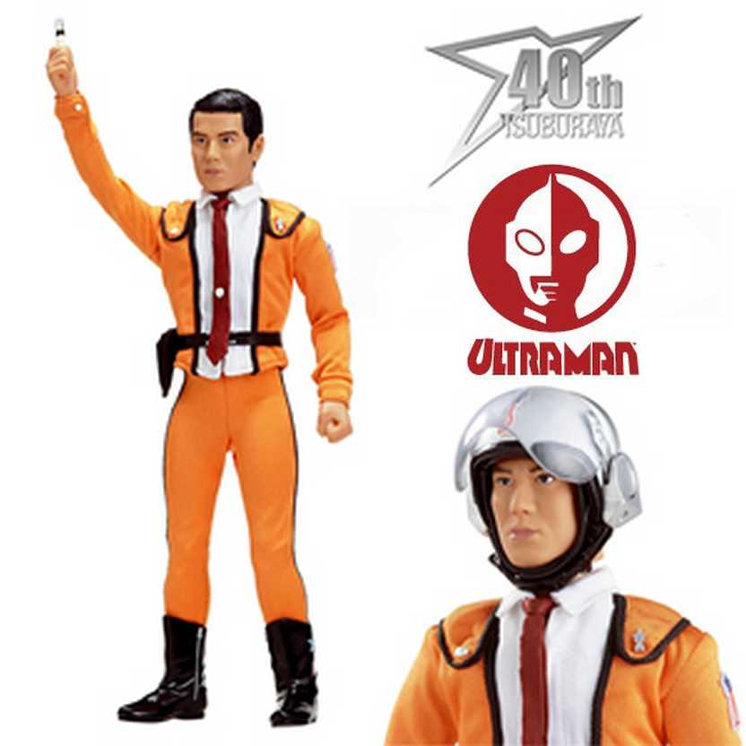 Boneco do Ultraman Shin Hayata - Patrulha Científica - Five Star Toy escala 1/6