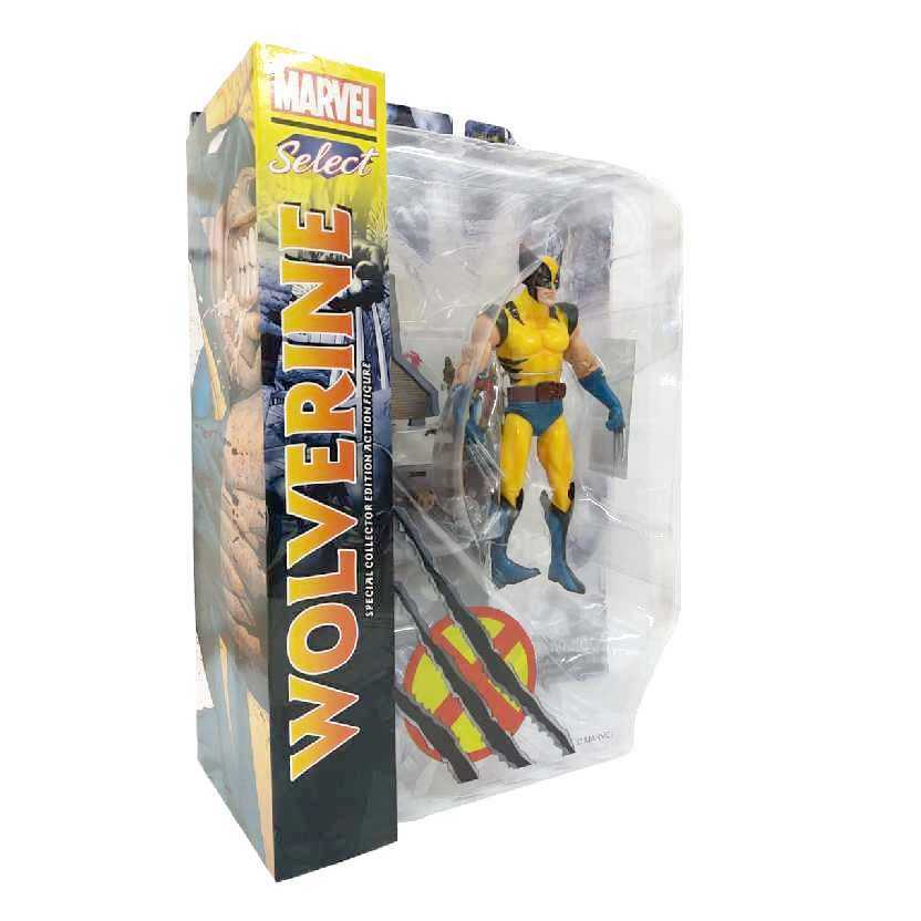 Boneco do Wolverine Bonecos Marvel Select Comics Volverine Diamond Select
