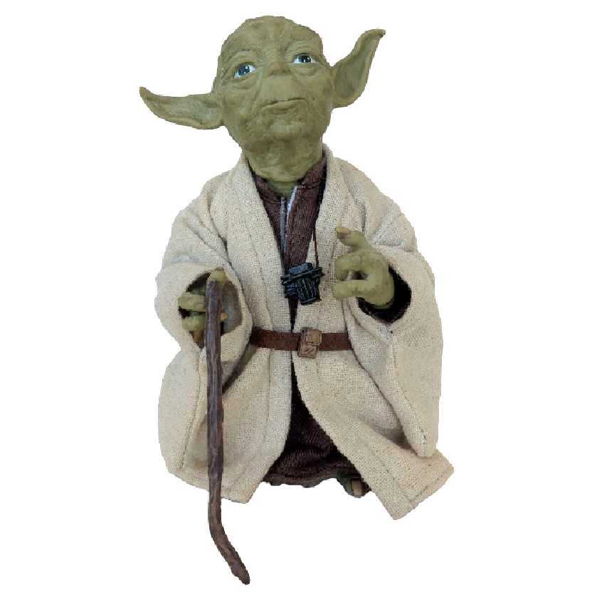 Boneco do Yoda Star Wars Guerra nas Estrelas Medicom Takara Tomy escala 1/6