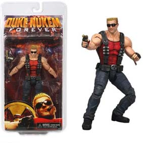 Boneco Duke Nukem Action Figure Games