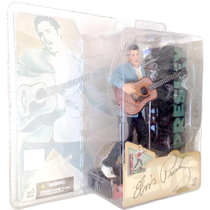 Boneco Elvis Presley 2 Mcfarlane Toys 1954 rockabilly novo