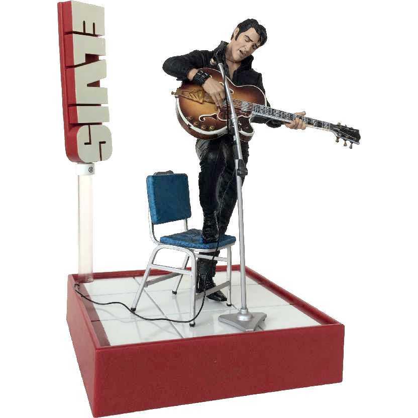 Boneco Elvis Presley Comeback Special (aberto) Mcfarlane Toys