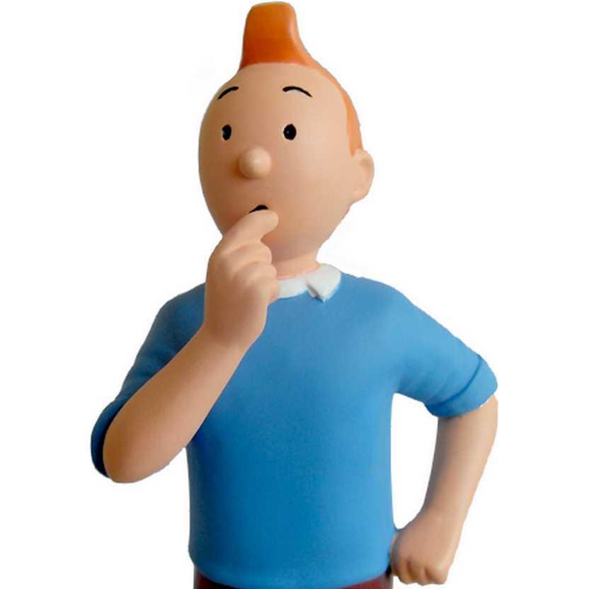 Boneco em resina - As Aventuras de Tintin e Milu