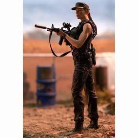Boneco Exterminador do Futuro 2 :: Terminator 2 Sarah Connor (aberto)
