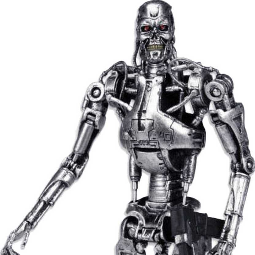 Boneco Exterminador do Futuro Neca The Terminator T-800 Endoskeleton Classic Action Figure