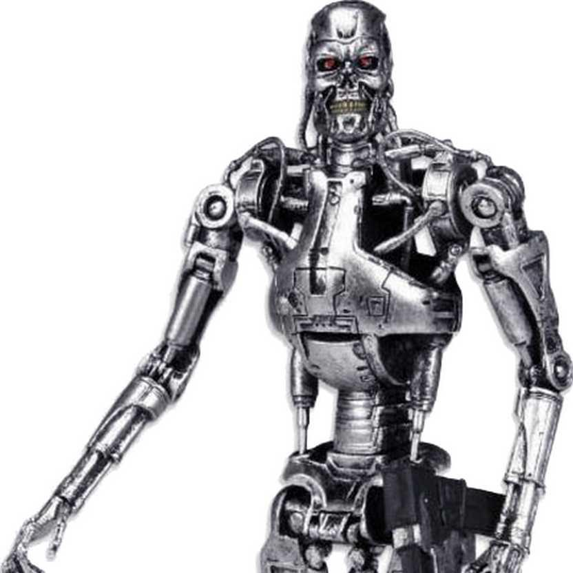 Boneco Exterminador do Futuro Neca The Terminator T-800 Endoskeleton Classic Action Figure