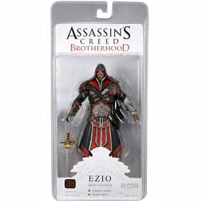 Boneco Ezio Assassins Creed Brotherhood Ebony :: Ezio Auditore Assasin Action Figure